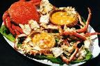 Alquiler de vacaciones en Tossa de Mar, restaurante las Rías, donde comer centollo en Tossa de Mar
