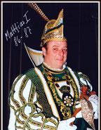 Prinz Matthias I. Pünzeler, 1987