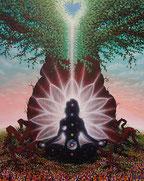 Kundalini, Kundalinierweckung, Baum, Chakras, Chakren, Erleuchtung, Herz