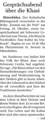 (Quelle: Freilassinger Anzeiger, 14.10.2019)