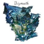 Bismuth Pierres de Lumière Saint Rémy de Provence, pierre roulée, pierre brute, galet, lithothérapie, vertus, propriétés, ésotérisme