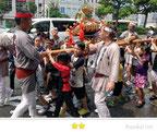 b'さん: 富岡八幡宮例大祭
