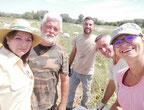 harvesting team