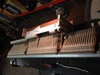 Comment coller les marteaux de piano à queue ?