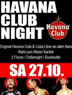 27:10:2012 HAVANA CLUBNIGHT