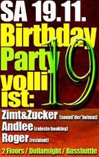 19.11.2011 BirthdayParty