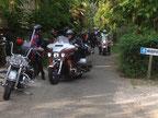 Moto harley gers collection virada gascone camping