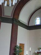 Sanierung und Restaurierung des Kuppelsaals in einer Berliner Kirche