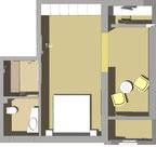 doppelzimmer 9 im haupthaus eilun