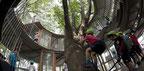 Kindergarten geplant von Architekt Takaharu Tezuka, Gastprofessor an der TU Wien