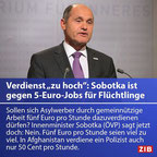 Sobotka wirklich der richtige Mann für österreichs zukünftige Migrationsstrategie?