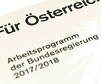 Arbeitsprogramm für die Regierung, aber auch für Österreich?