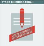 Widerstand gegen weiteren Bildungsabbau