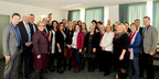 PH-NÖ Bild: Die Absolvent/innen Schulmanagement-Lehrganges mit Gästen