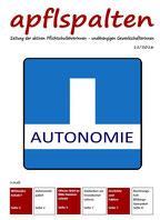 apflspalten - Die Zeitung der aktiven Pflichtschullehrer/innen – unabhängige Gewerkschafter/innen