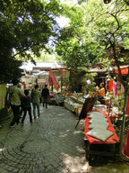 一度境内を出て、坂道をのぼり植物公園の深大寺門へ