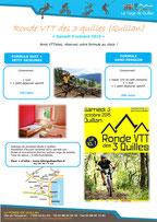 Ronde VTT des 3 Quilles - offre hebergement La Forge