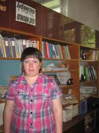 Симоненко Зоя Александровна - библиотекарь филиала с. Мухинский