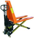 Transpaleta tijera  eléctrica          manual 1.500 kg