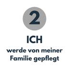 Pflegeirrtum 2: Ich werde von meiner Familie gepflegt