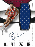 BRAD DAUGHERTY / Luxe Auto Jersey - No. M-BD  (#d 60/60)