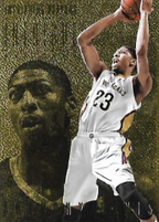 ANTHONY DAVIS / Intrigue Gold - No. 122  (#d 9/10)