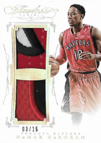 DeMAR DeROZAN / Dual Patch - No. DP-DD  (#d 3/15)