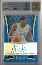ANTHONY DAVIS / Franchise Signatures - No. 11  (#d 9/20)