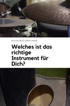Schlagzeug oder Cajon