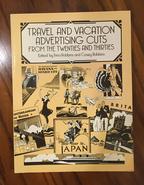 (商品番号M-1)(洋書)図案カット集 「TRAVEL & VACATION ADVERTISING CUTS」