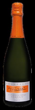 Champagne Dravigny, cuvée L'équilibre Parfait.