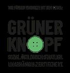 Wir führen Produkte (Krankenhausbettwäsche) mit dem Grünen Knopf