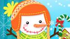 sneeuwman aankleden ( muisoef.)