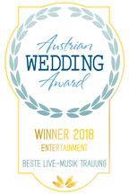 Helga Bauer Sängerin v Gospel4Wedding Austrian Wedding Award Gewinnerin 2018