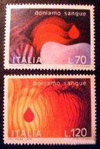 ITALIA: donemos sangre. Michel 1589-1590