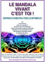 Carmen Péra à Tours, conférence organisé par Via Energetica, annuaire bien-être en Touraine