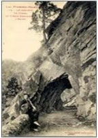 ... petit tunnel avant la piste de la soif...
