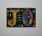 """Calligraphie moderne """"JEUX OLYMPIQUES"""""""