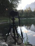 Tipps Ausrüstung Landschaftsfotografie Sonnenaufgang am Eibsee