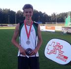 Matthias mit Silbermedaille