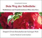 CD-Cover mit leuchtend roten Blütenblättern im Sonnenlicht.