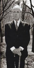 Jorge Luis Borges in tarda età.