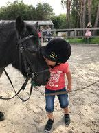 Paardrijden, ponyrijden, pony henk knuffelen? Dat kan ook op je kinderfeestje in Bussum bij Manege Gooi en Eemland