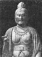 ろうそくの伝来 大安寺の楊柳観音立像
