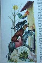 Bilde fra en gammel eventyrbok