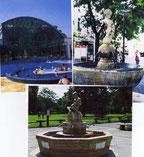 Mineralbrunnen und Bad