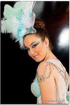 Maquillaje Carnaval  pétalos