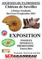 Affiche de l'exposition - Château de Saveilles - Saveille - Visite de château groupe - Visite château en famille