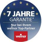 Weinor Top Partner Garantie