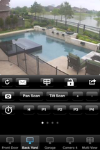 Cams are viewable on my iPhone as well.